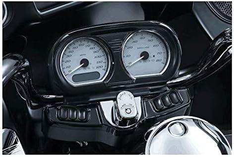 FLTRXSE and FLTRU 2015-2020,Gloss Black ONETK Instrument Housing Kit Instrument Speedometer//Tach Housing Fairing Kit for Harley Touring Road Glide FLTRX FLTRXS