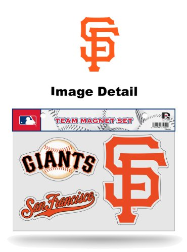 - San Francisco Giants NFL Team Logo Car Truck SUV Home Office School Fridge Magnets