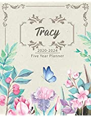 TRACY 2020-2024 Five Year Planner: Monthly Planner 5 Years January - December 2020-2024 | Monthly View | Calendar Views | Habit Tracker - Sunday Start