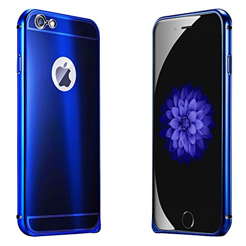 iPhone 6s Plus Case, iPhone 6 Plus Case, ArtMine Luxury Aluminum Metal (Royal Blue Cell Phone Case)