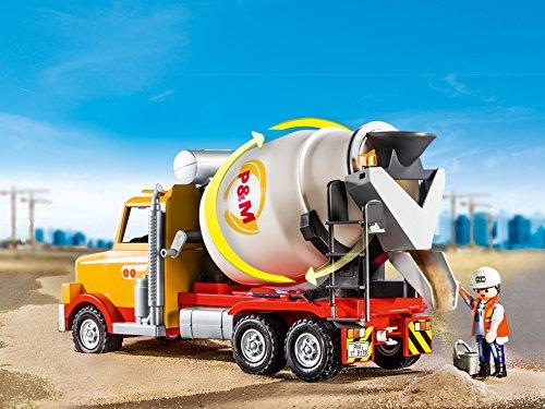 amazon playmobil cement truck ロボット ソフビ人形 おもちゃ