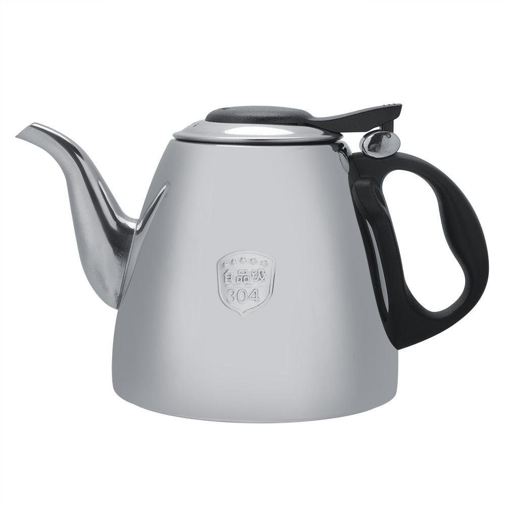 Fosa 1.2L / 1.5L Stainless Steel Stove Teapot Stainless Steel Tea Kettle Electronic Tea Coffee Pot Kettle with Heat Resistant Handle(1.2L) fo sa