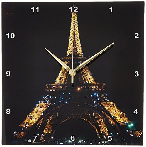 3dRose dpp 107793 2 Monument Illuminated Paris Wall