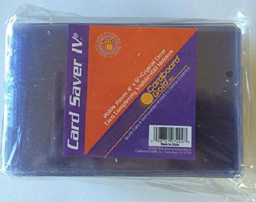 (1pk of 100) CS4 Card Saver 4 Pro Graded 4x6 Card / Memorabilia submits Cardboard Gold ULTRA (Memorabilia Postcard)