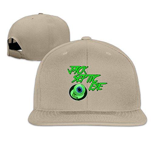 LINNA Custom Unisex Green Eyeball Best Friends Flat Bill Summer Hats Caps - Coach Sunglasses Outlet