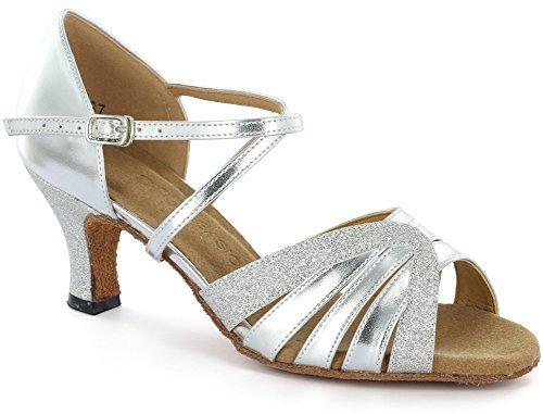 DSOL Women's Latin Dance Shoes D1668-1 (7, - 80 Samba Shoe