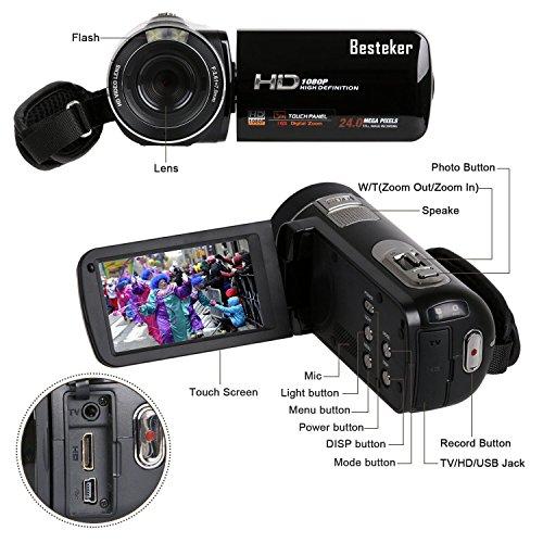 Camcorder, Besteker Portable HD ...