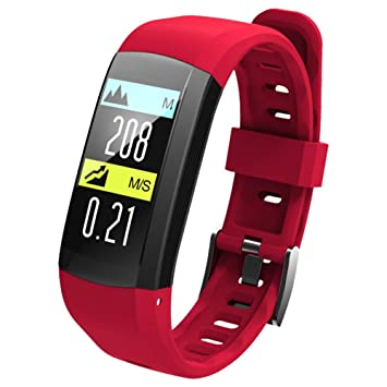 OOLIFENG Reloj Running con GPS, IP68 Impermeable Fitness Reloj ...