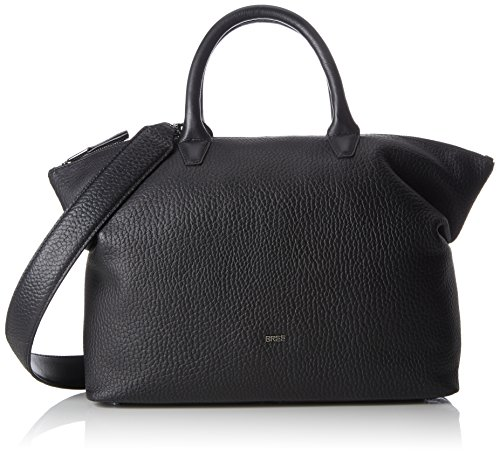 Bree Icon Bag Shopper Borsa tote pelle 38 cm Nero (Black)