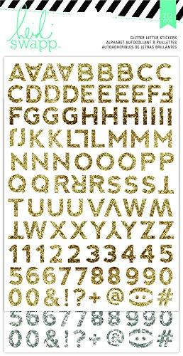 - Heidi Swapp Hello Beautiful Glitter Alpha Stickers