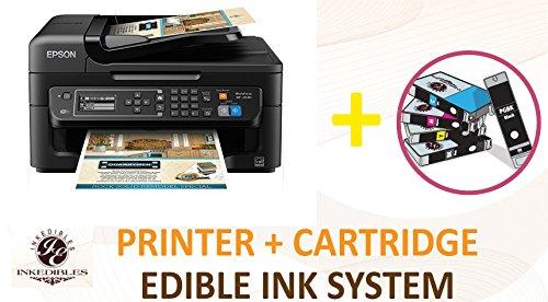 YummyInks Brand YummyInks Brand Epson WF-2750 Wireless Bundled Printing System - includes brand new printer with complete set of edible ink cartridges
