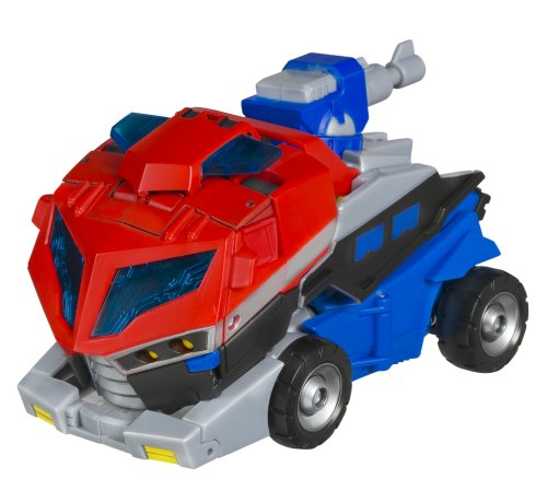 Transformers Animated Voyager Optimus Prime Earth Mod