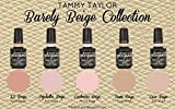 Tammy Taylor ''BARELY BEIGE'' COLLECTION 5 BEAUTIFUL GELEGANCE GEL POLISH Free Gift
