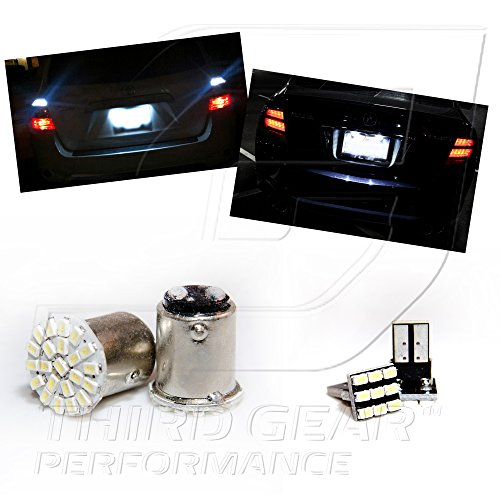 tgp-1156-white-22-led-smd-reverse-backup-light-bulbs-and-license-plate-led-pair-2008-2009-pontiac-g8