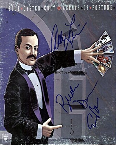Blue Oyster Cult Fortune Autographed Preprint Signed Photo