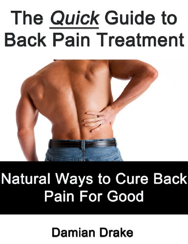 The Quick Guide to Back Pain Treatment - Natural Ways to Cure Back Pain For Good by [Drake, Damian]