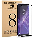 Samsung Galaxy S9 Screen Protector, [Easy to Install][HD - Clear][Case Friendly][Anti-Fingerprint] Premium Tempered Glass Screen Protector for Samsung Galaxy S9( 2018 ) [Clear]