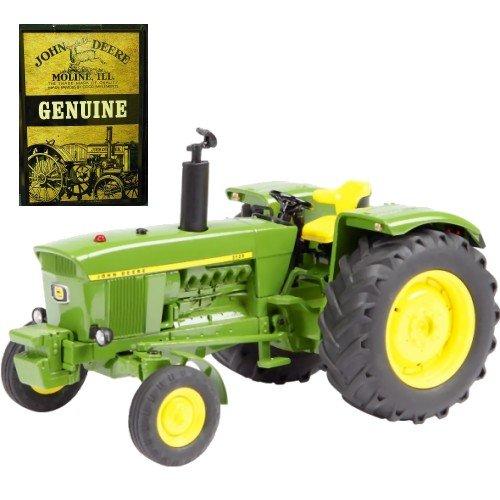 Schuco 07676 Traktor John Deere 3120 + Blechpostk. 1:32