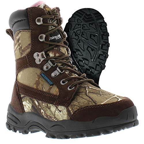 Boots Womens Itasca (Itasca Women's Long Range Waterproof Hunting 800g Thinsulate Ultra, Size 8 Hiking Boot, Brown/Camouflage, 8.0 D US)