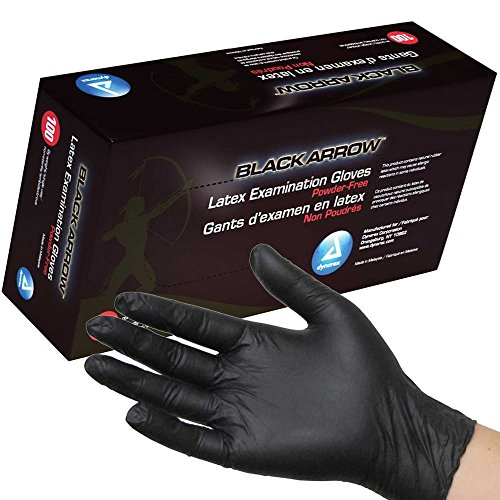 dynarex-black-latex-exam-gloves-powder-free-medium-box-100