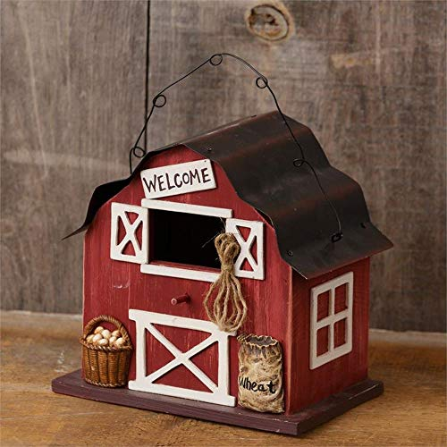 Your Heart's Delight Birdhouse - Barn Welcome ()