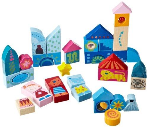HABA-Fantasy Land Building Blocks (Fantasy Haba Blocks)