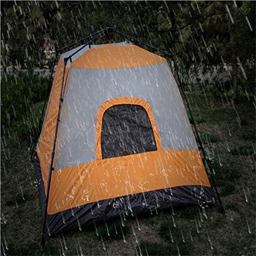 ACEWD 6 Personen Zelt Sekundenzelt, Outdoor Pop Up Kuppelzelt Wurfzelt Wasserdicht Sonnenschutz Backpacking Wurfzelte Schnell Set-Up Für Camping Wandern Outdoor Aktivitäten