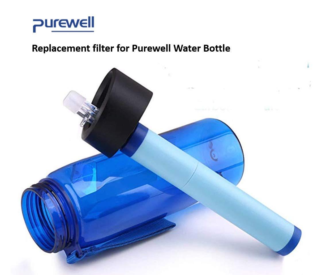 Purewell Reemplazo de la Paja del Filtro de Agua
