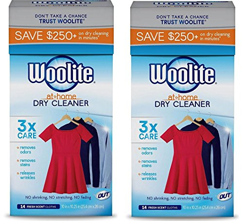 Woolite At Home Dry Cleaner , 28 Cloths, Fresh Scent by