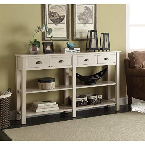 ACME Galileo Cream Console Table (Asian Console Style Tables)