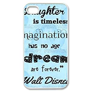 Laughter is timeless DIY Case Cover for iPhone 4,4S LMc-71209 at LaiMc