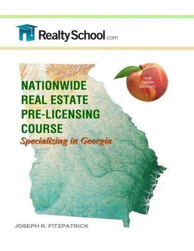 te Pre-licensing Course: Specializing in Georgia by Joseph R. Fitzpatrick (2014-01-28) ()