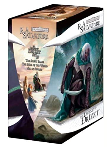 Book The Legend of Drizzt: The Silent Blade WITH The Spine of the World AND Sea of Swords Set 4 (Forgotten Realms: The Legend of Drizzt) by R. A. Salvatore (2009-10-10)