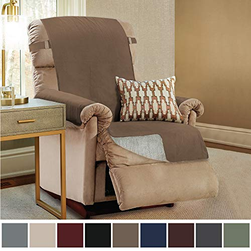 Gorilla Grip Original Slip Resistant Recliner Slipcover Protector, Seat Width Up to 26