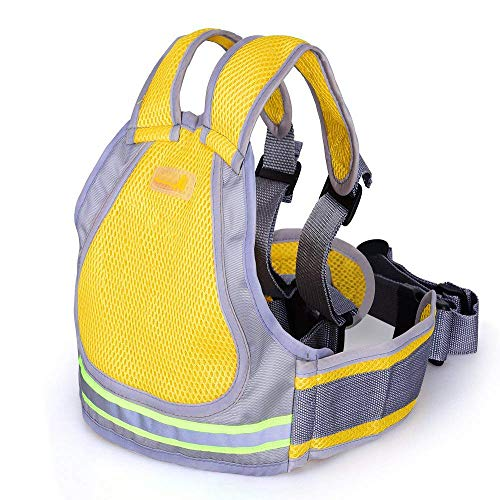 Superdream Child Snowmobile Motorcycle Safety Harness Walking Belt with 4-in-1 Buckle (Yellow)