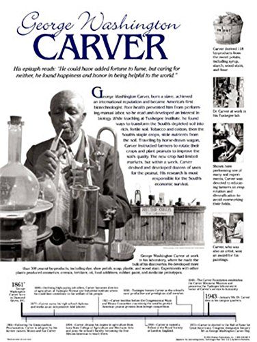 - George Washington Carver Poster 18 x 24in