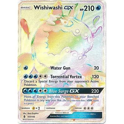 Wishiwashi-GX - 151/145 - Secret Rare - Sun & Moon: Guardians Rising