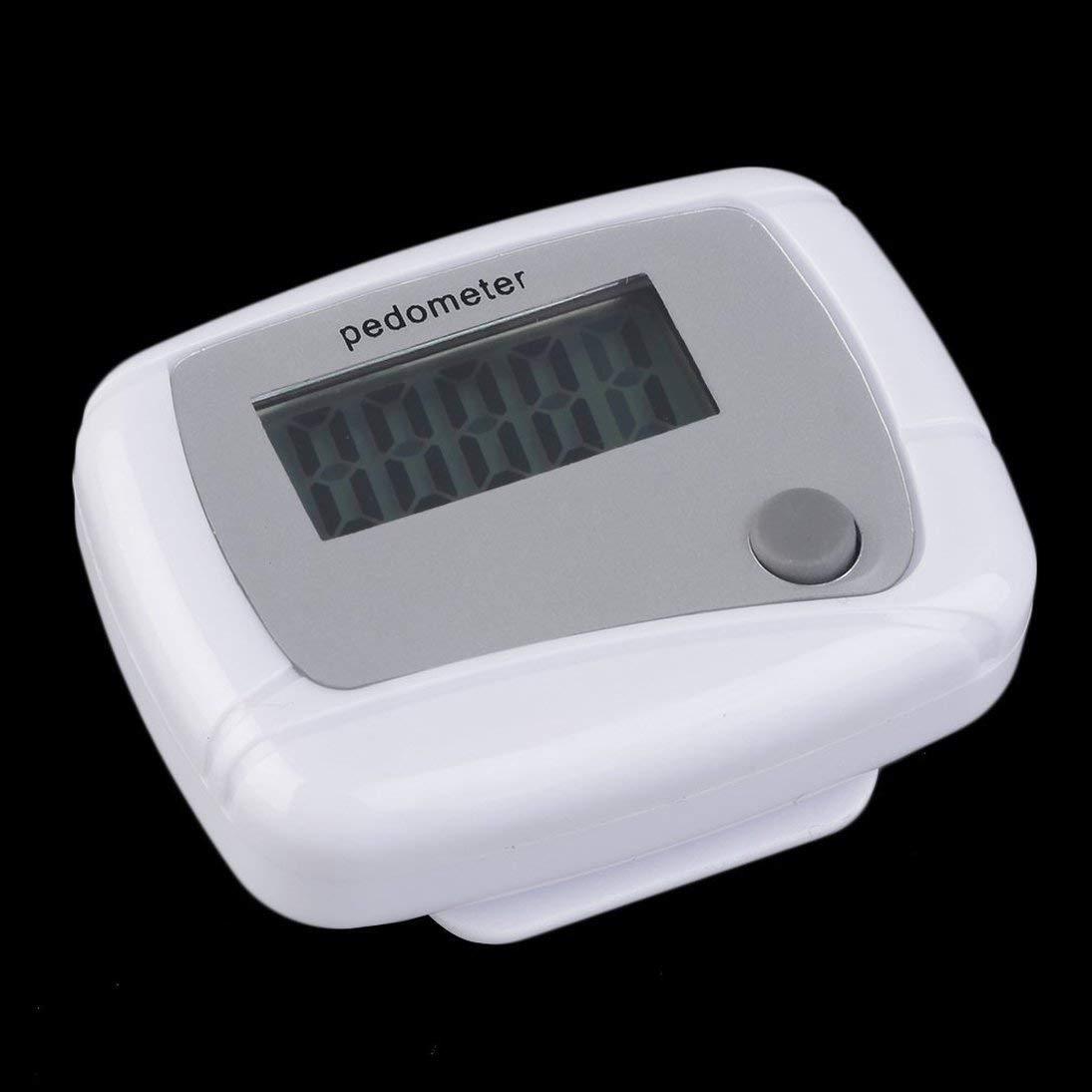 Togames-DE Tragbarer Mini-Digital-LCD-Schrittschritt-Schrittzä hler