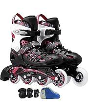 Inline Skates Dames Verstelbare Inline Skates Mannen Rollerblades Inline Voor Volwassenen Slijtvast, Rustig En Comfortabel Mannen Ook Voor Tieners,