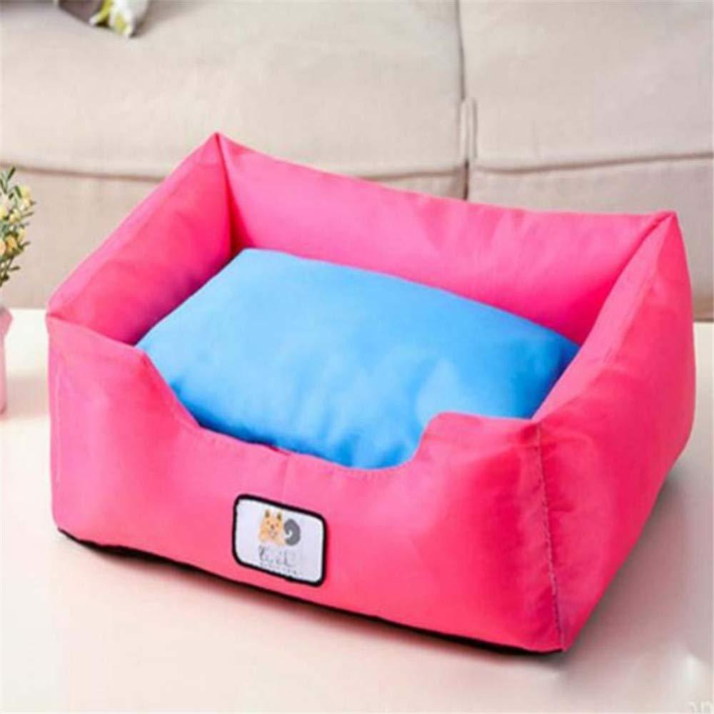 Para tu estilo de juego a los precios más baratos. M Wuwenw Oxford Oxford Oxford Cloth Square Nest Dog Bed Desmontable Lavable para Mascotas Sofá Cojín Impermeable Cat Litter Kennel Puppy Bed S, M, L, M  Disfruta de un 50% de descuento.