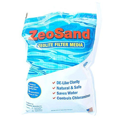 ZeoSand Pool Filter Filtration Media 25lbs by ZeoSand