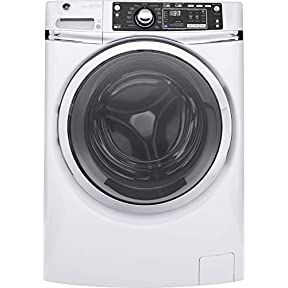 GE GFW480SSKWW 28' Front Load Washer with 4.9 cu. ft. Capacity, 13 Wash Cycles, in White