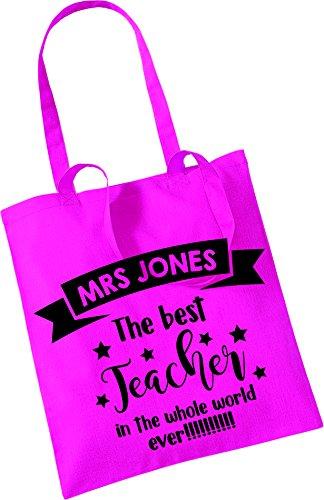Best Nunca Whole Maestro Mejor Personalised Bag Teacher Little Rosa The Tote Color World Bastante Ever Pegatinas En De Pequeños Mundo De Personalizados Bolso El In Mano Todo Pink Pretty Stickers Aqwt88a