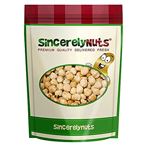 Sincerely Nuts Blanched Hazelnuts (Filberts) Roasted & Unsalted No Shell - Three Lb. Bag - Utterly Crunchy and Delicious - Filled with Healthy Nutrients - (Hazelnut Roasted)
