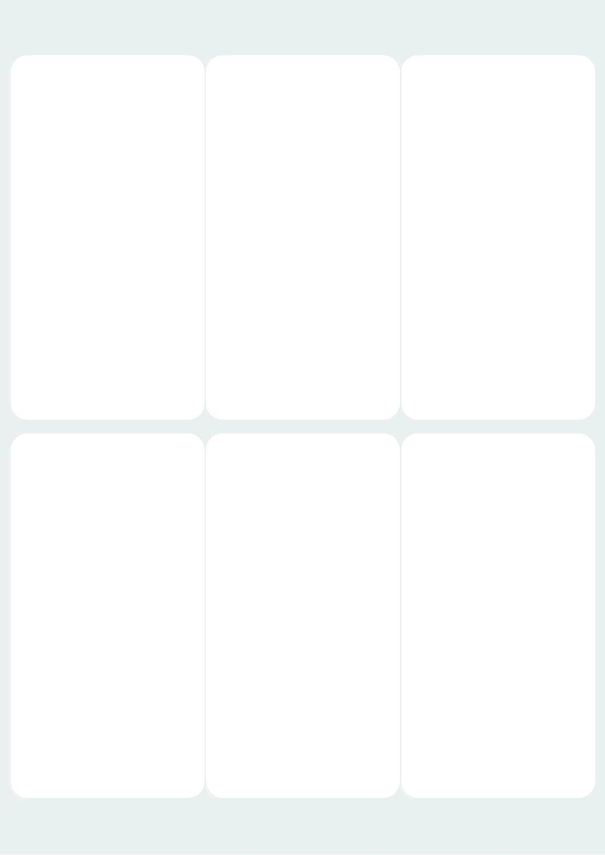 /Bianco /63,5/x 33/mm/ cong24 Avery Bustina di 24/etichette congelamento/