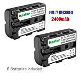 Kastar Battery for Sony NP-FM500H Sony DSLR-A100 A100 DSLR-A200 Alpha A200 DSLR-A300 Alpha A300 DSLR-A350 Alpha A350 DSLR-A450 Alpha A450 DSLR-A500 Alpha A500 DSLR-A550 Alpha A550 DSLR-A560 Alpha A560