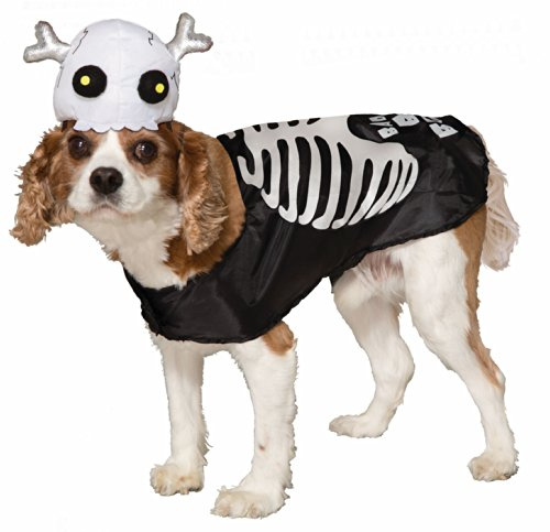 Dog Skeleton Costumes (Bad Bones Skeleton Dog Costume)