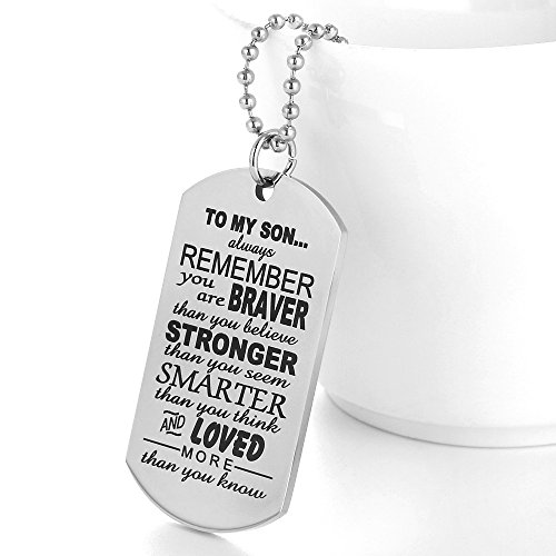 The 8 best dog tags for son from mom