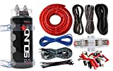 Best Amp Wiring Kits - SoundBox 4 Gauge Amp Kit Amplifier Install Wiring Review