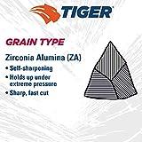 "Weiler 50706 4-1/2"" Tiger Disc Abrasive Flap"